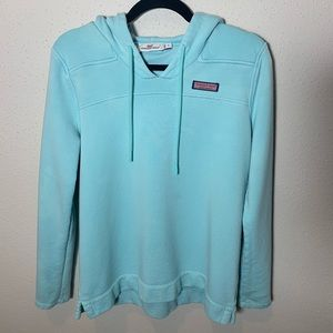 VINEYARDVINES Womens Small Blue Jacket Hoodie